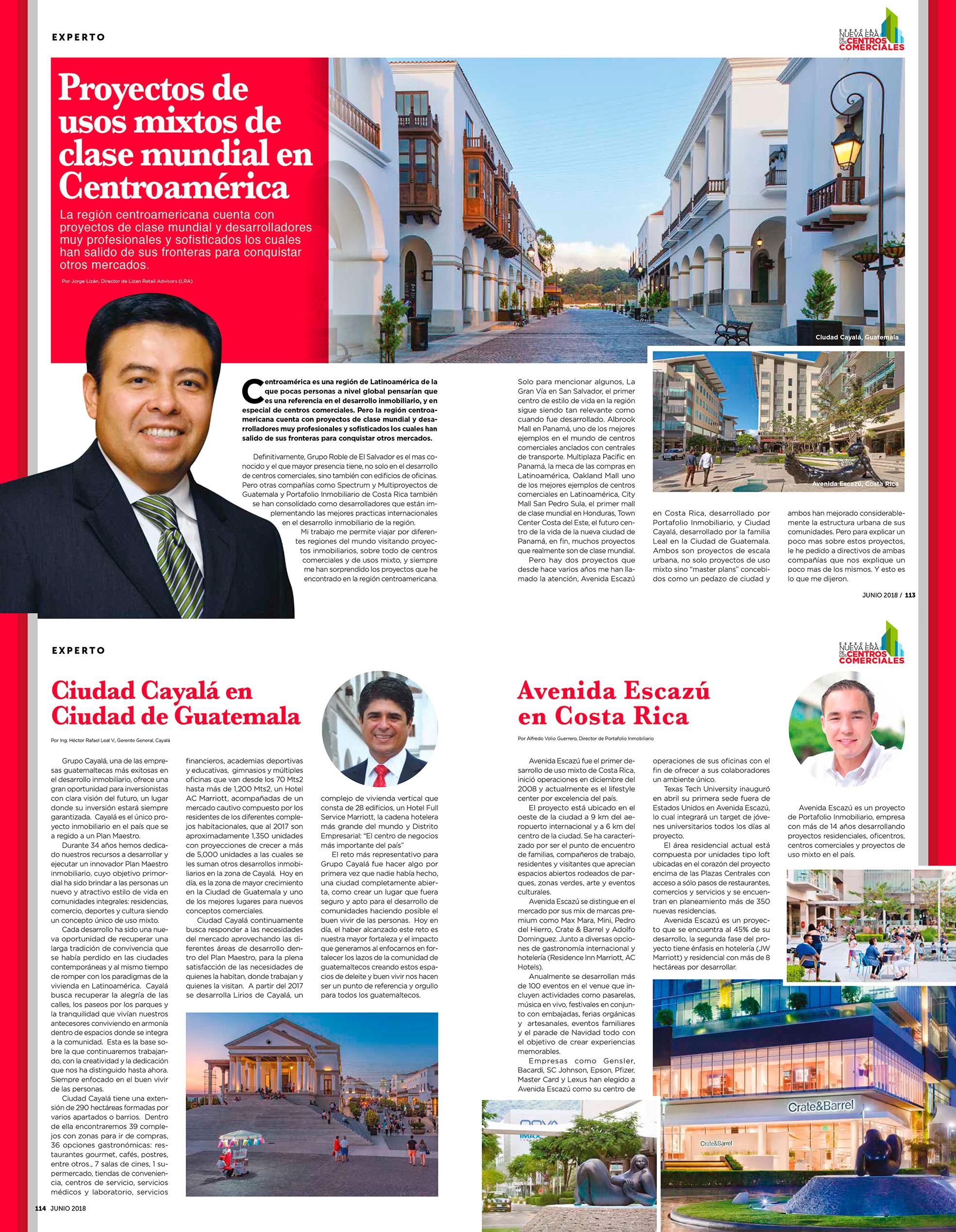 Proyectos usos mixtos de clase mundial en Centroamérica