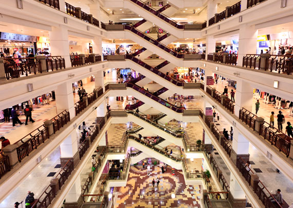 Shopping center industry - LRA