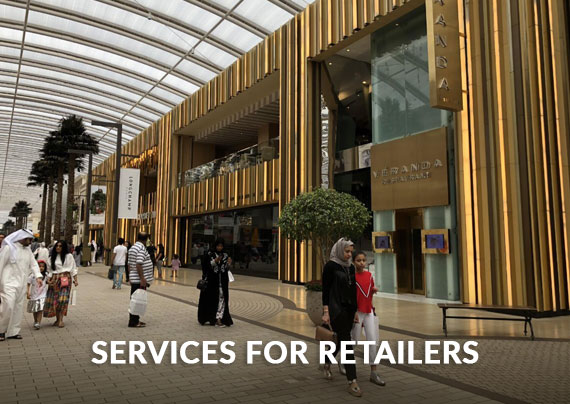 Services for retailers LRA