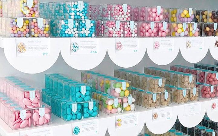 Luxury candy retailer